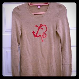 Lilly Pulitzer anchor sweater